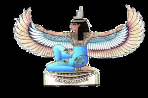 Dessin déesse égyptienne Isis